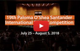 19th Paloma O'Shea Santander International Piano Competition